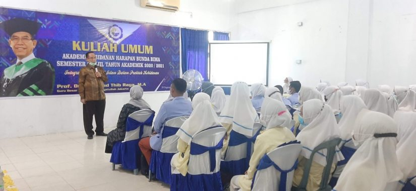 KULIAH UMUM (Implementasi Nilai-Nilai Islam Dalam Pratek Kebidanan)